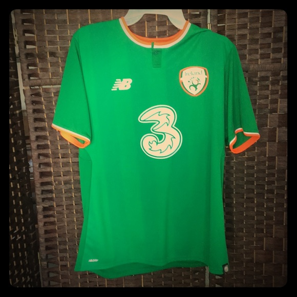 pretty nice 13546 d82a6 Ireland National Team Soccer Jersey